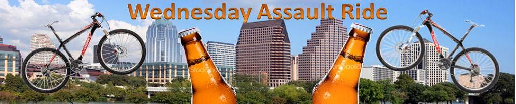Wednesday Assault Ride - Austin