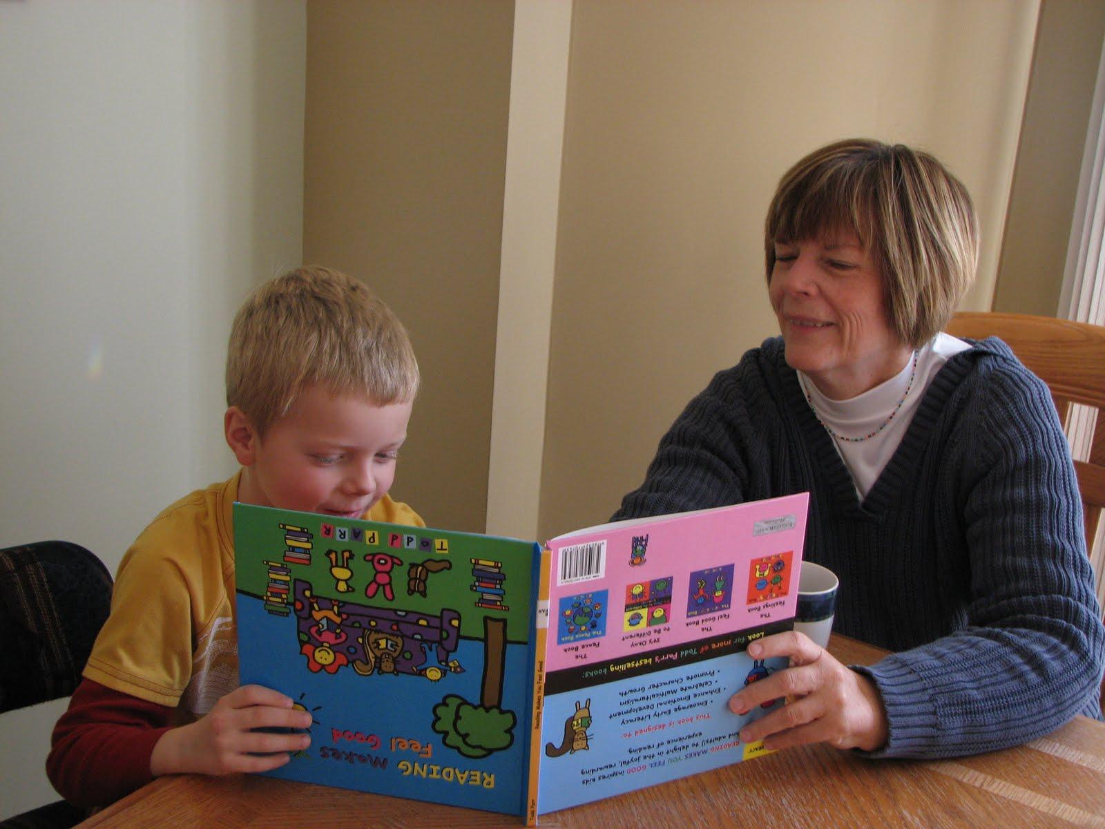 reading upside down mock family blog