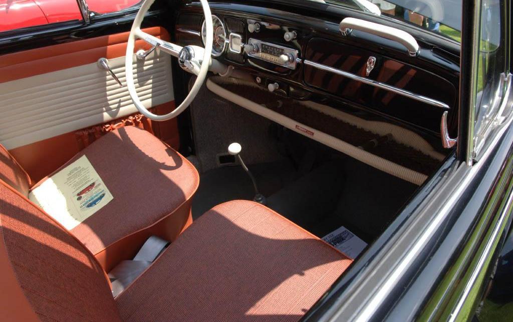 old vw beetle interior. 1965 Volkswagen Beetle 1200