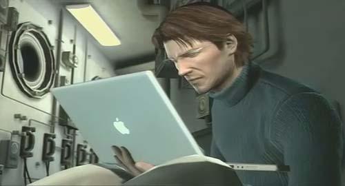 Metal Gear Solid 4(特攻神諜4)劇情動畫