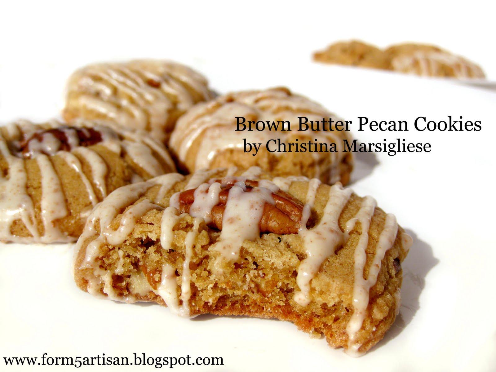 Scientifically Sweet: Brown Butter Pecan Cookies