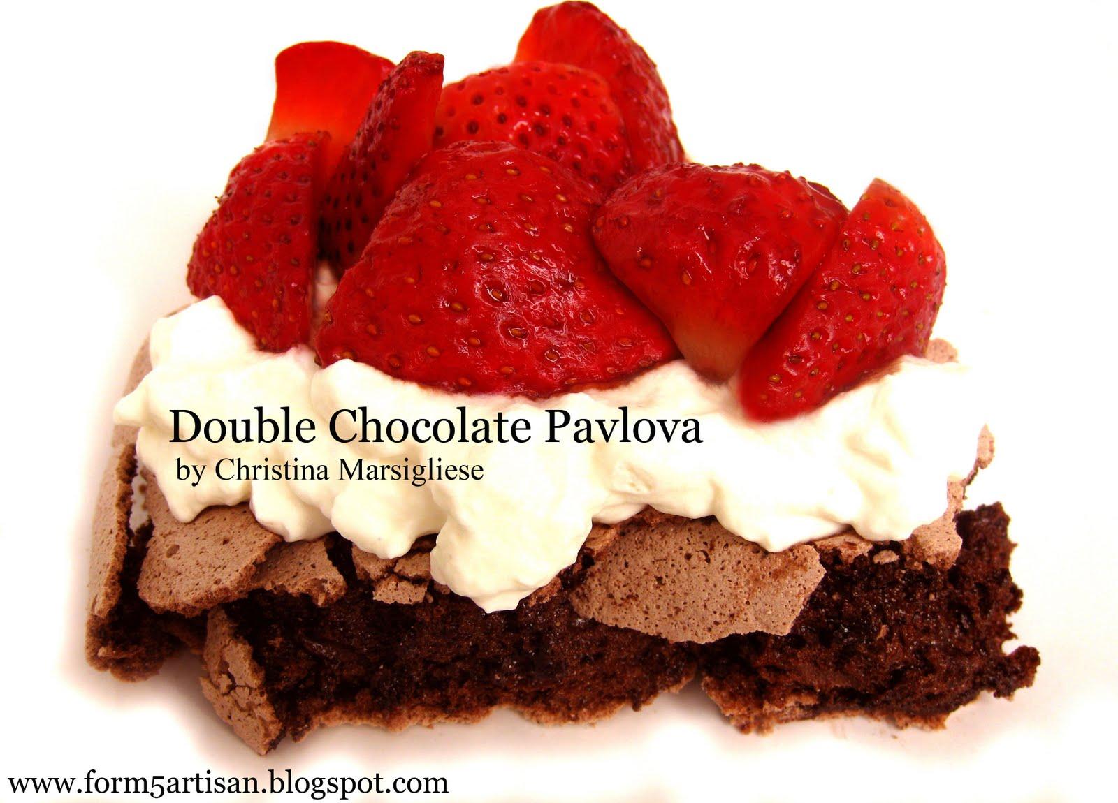 Scientifically Sweet: Double Chocolate Pavlova