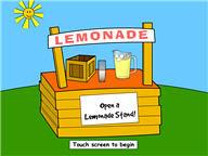 Naar het spel Lemonade Stand