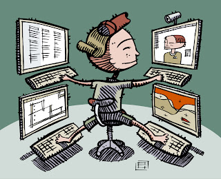 Multitasking is actually task-switching, and rapid task-switching can ...
