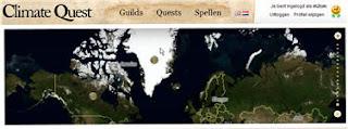 Naar de site Climate Quest