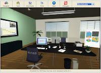 Screendump van startscene uit het spel