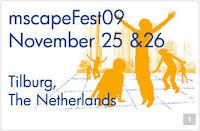 afbeelding van logo Mscape-Fest 2009