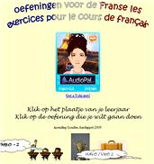 afbeelding website Oefeningen voor de Franse les