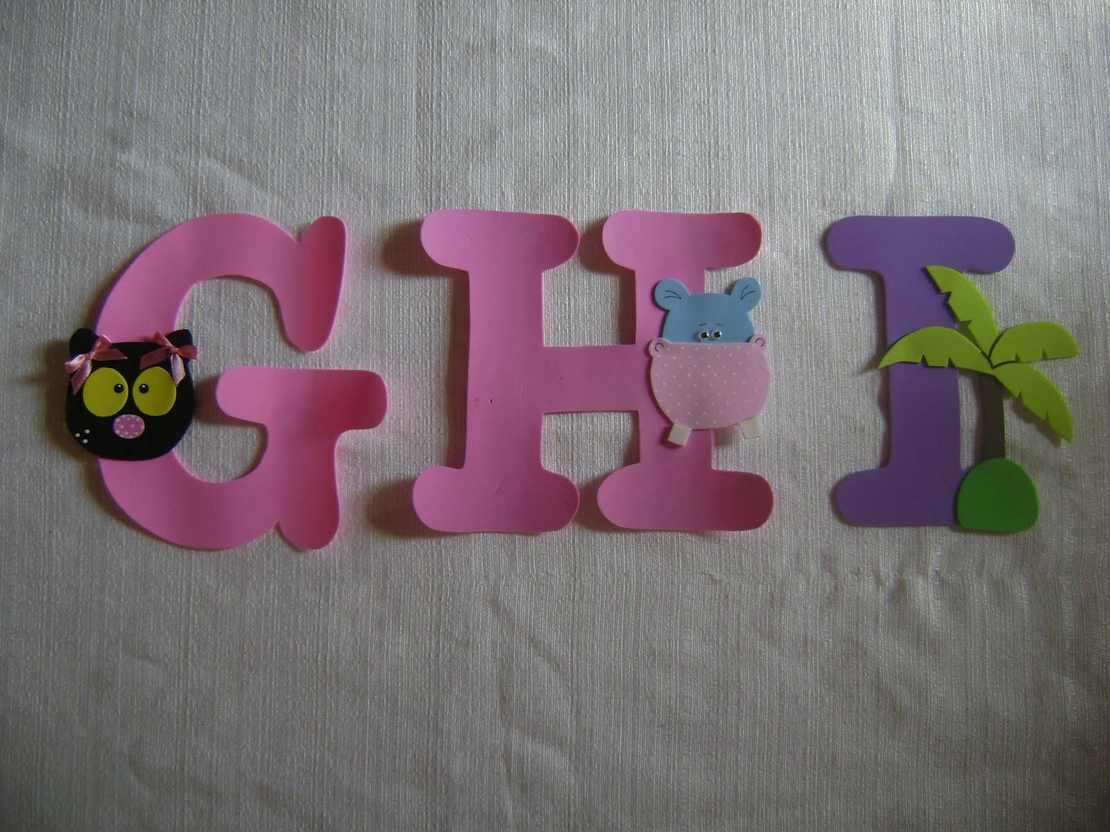 Alfabeto Para Parede