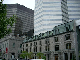 Arquitectura sobre la calle Sherbrooke