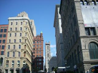 Entrada al Old Town de Montreal