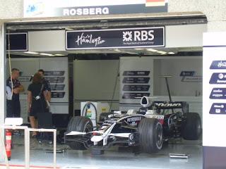 El auto del Alemán Roseberg (foto Adrian)