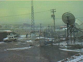 Primera nieve de Canadá en Iqaluit