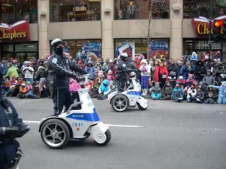 La Policía mostró sus nuevos triciclos