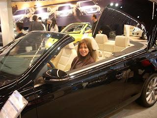 El auto favorito de Moni de todos los tiempos, el VW Eos