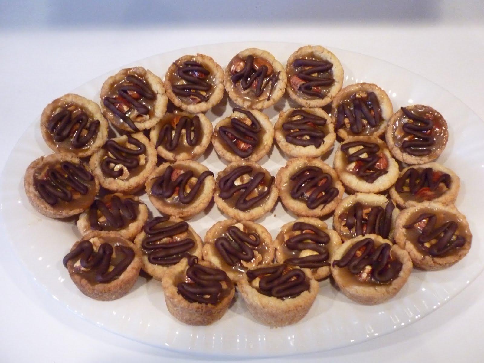All Betz Off: Caramel-Hazelnut Mini Tartlets