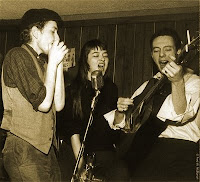 Bob Dylan, Karen Dalton and Fred Niles at Cafe Wha