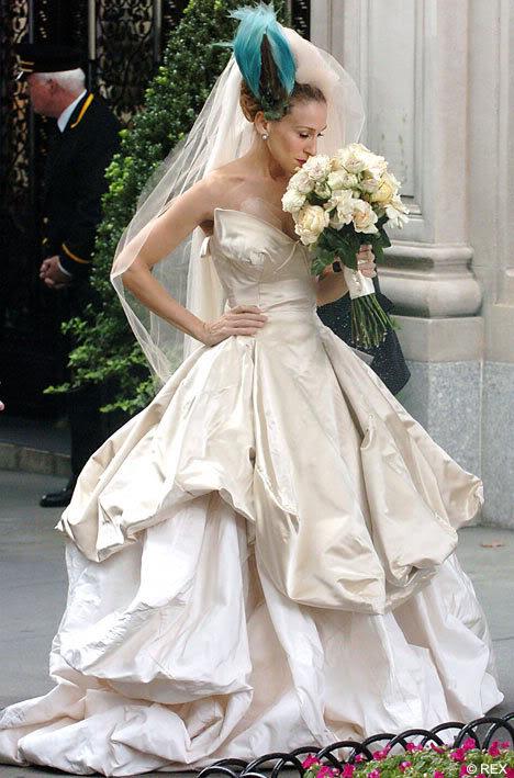famous vivienne westwood designs. Vivienne Westwood takes bridal
