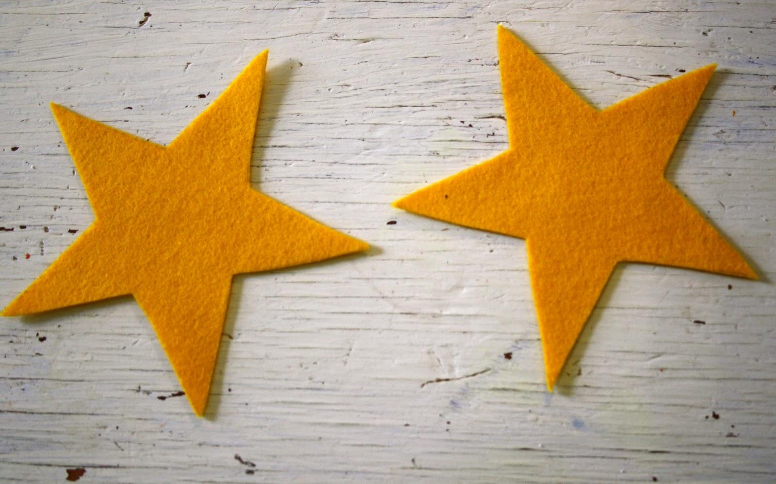 Twig and Toadstool Felt Shooting Stars Tutorial