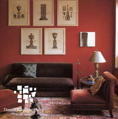 Rachel Hazelton Interior Design Red Hot
