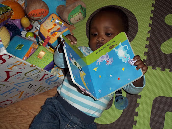 Ira loves his books and toys