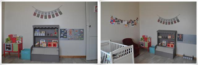 Petite section la chambre de leonard for Tableau magnetique castorama