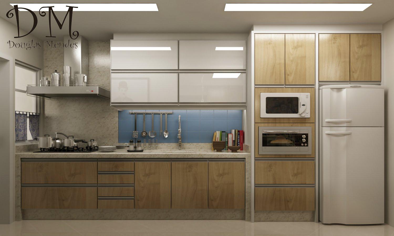 DM Douglas Mendes: Cozinha e painel de TV #5D4C34 1500 901
