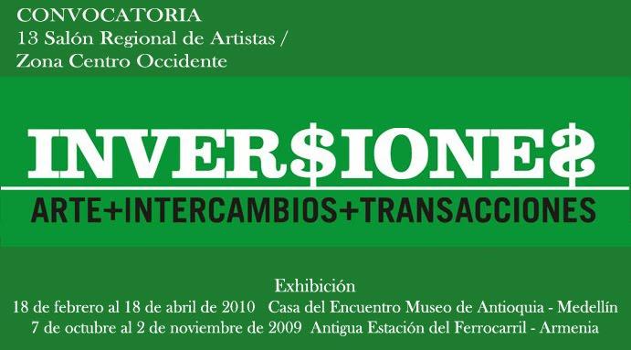 inversiones [Arte, Intercambios y Transacciones]