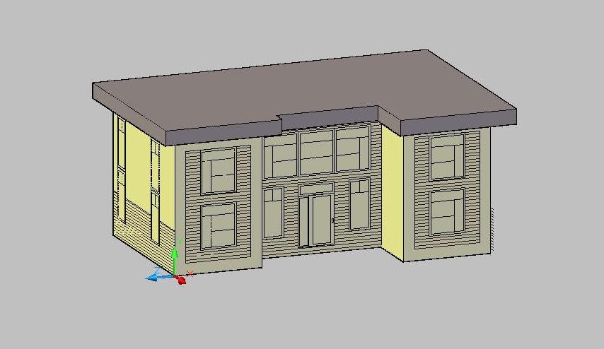 Autocad House Designs Images