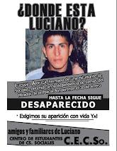 ¡Basta de impunidad! ¡Aparición con vida de Luciano Arruga!