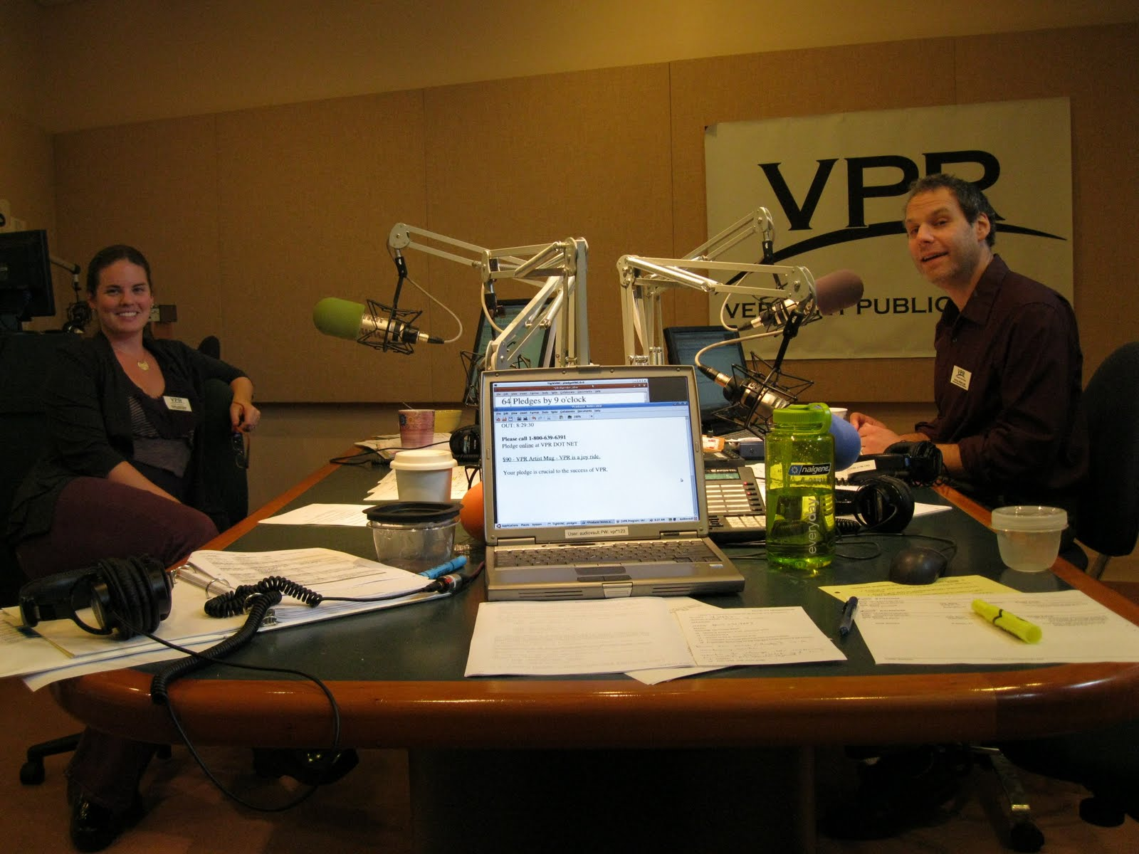 Fundraising On Morning Edition With Mitch Wertlieb And Jane Lindholm We Got To Talking Off The Air About How You Know If Youre A VPR Die Hard