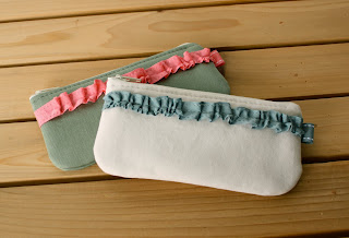 handmade pouch zipper pouch keyring pouch
