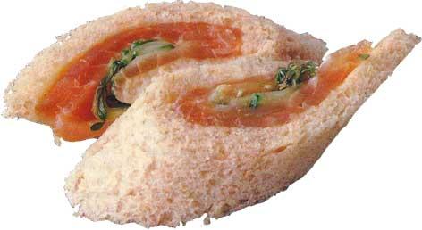 Recetas f ciles y r pidas canap s de salm n ahumado con for Canape de salmon ahumado