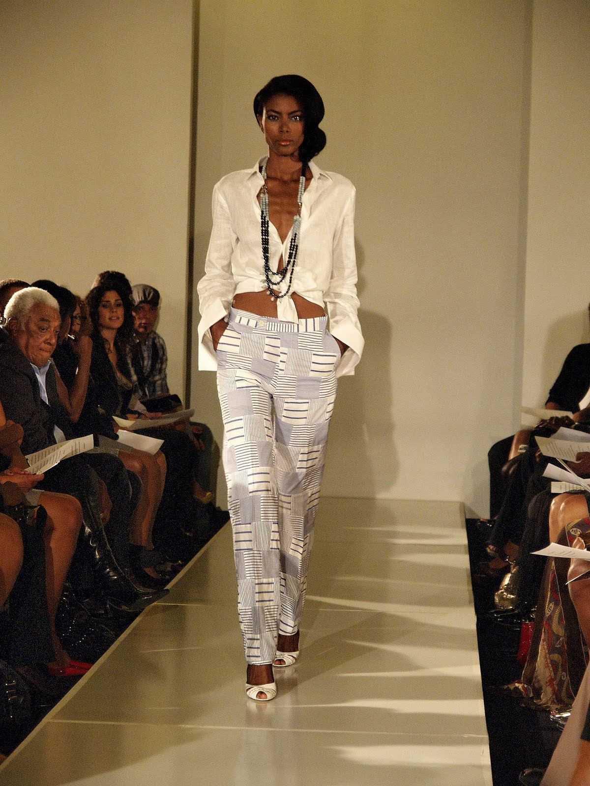 True fashionista now b michael 39 s spring 2011 collection for A davis brown salon
