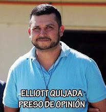 Elliott Quijada, Preso de Opinión