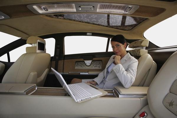 Interior New Mercedes-Benz F