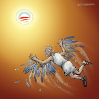 birds of a feather the myth of icarus parallels the myth of obama