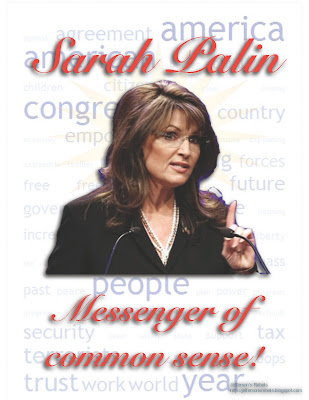 sarah palin messenger of common sense