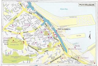 City road map port elizabeth - Port elizabeth south africa map ...