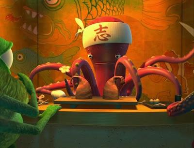 Sushi+Monsters pixar misterio disney curiosidades