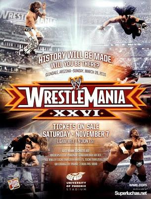 Wrestlemania 26 Live Stream Free