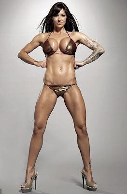 Jodi Marsh Body Builder