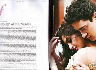 Imran & Sonam Filmfare Magazine India June 2009