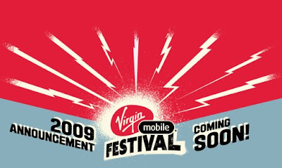Virgin Mobile Festival US Confirmed, Virgin Festival BC Announced