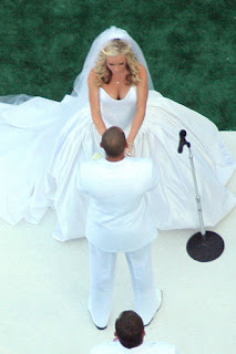 Kendra Wilkinson Hank Baskett Wedding Photos