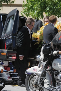 Farrah Fawcett Funeral Photos