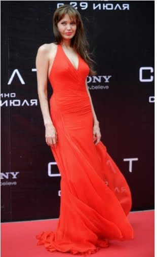 Angelina Jolie Salt Premiere Russia