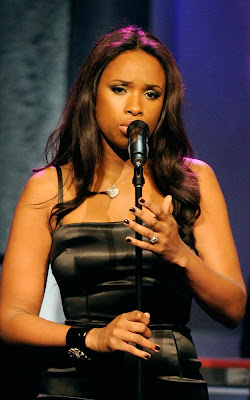 Jennifer Hudson performing at The Ambassadors For Humanity Gala