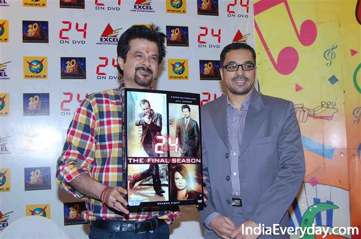 Anil Kapoor Unveils the DVD of '24: Season 8′