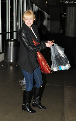 Emma Stone spotted arriving at LAX Airport in Los Angeles